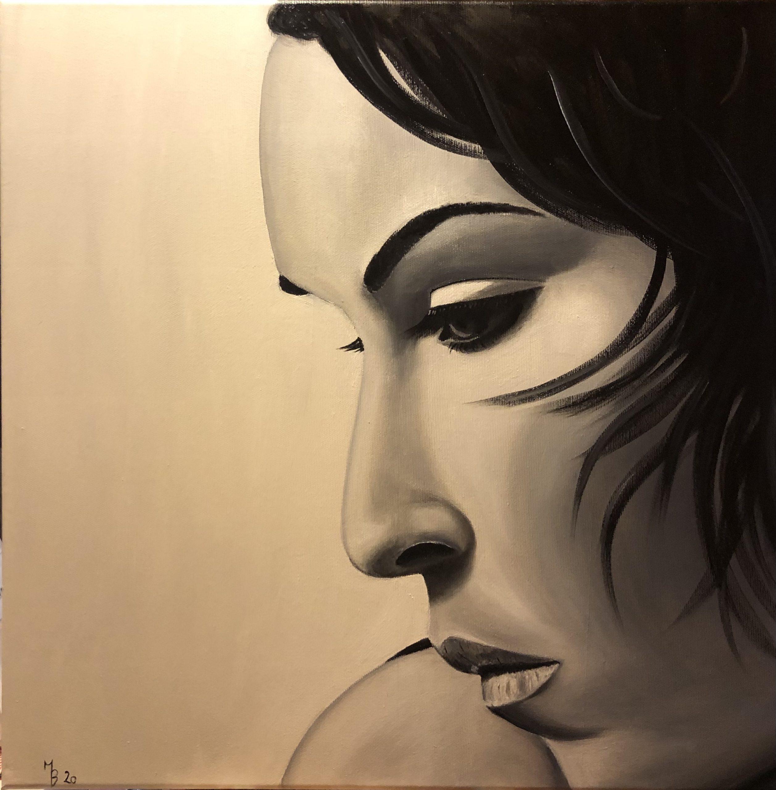 Olejomalba portrét 8