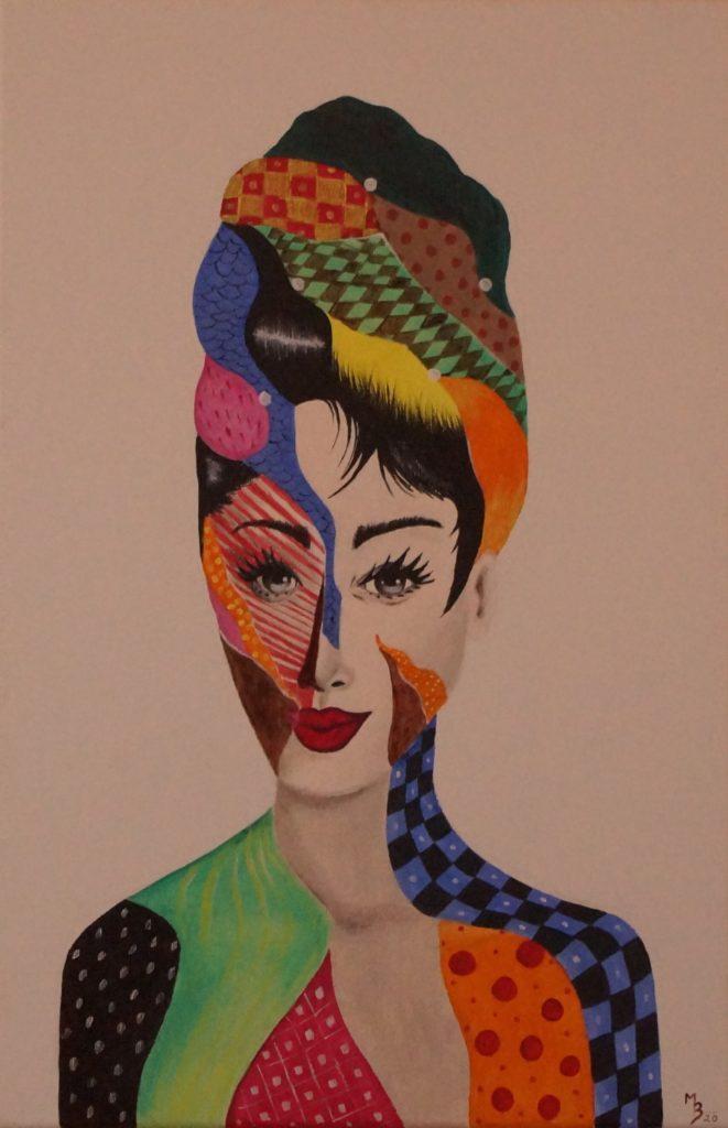 obraz akrylem Audrey