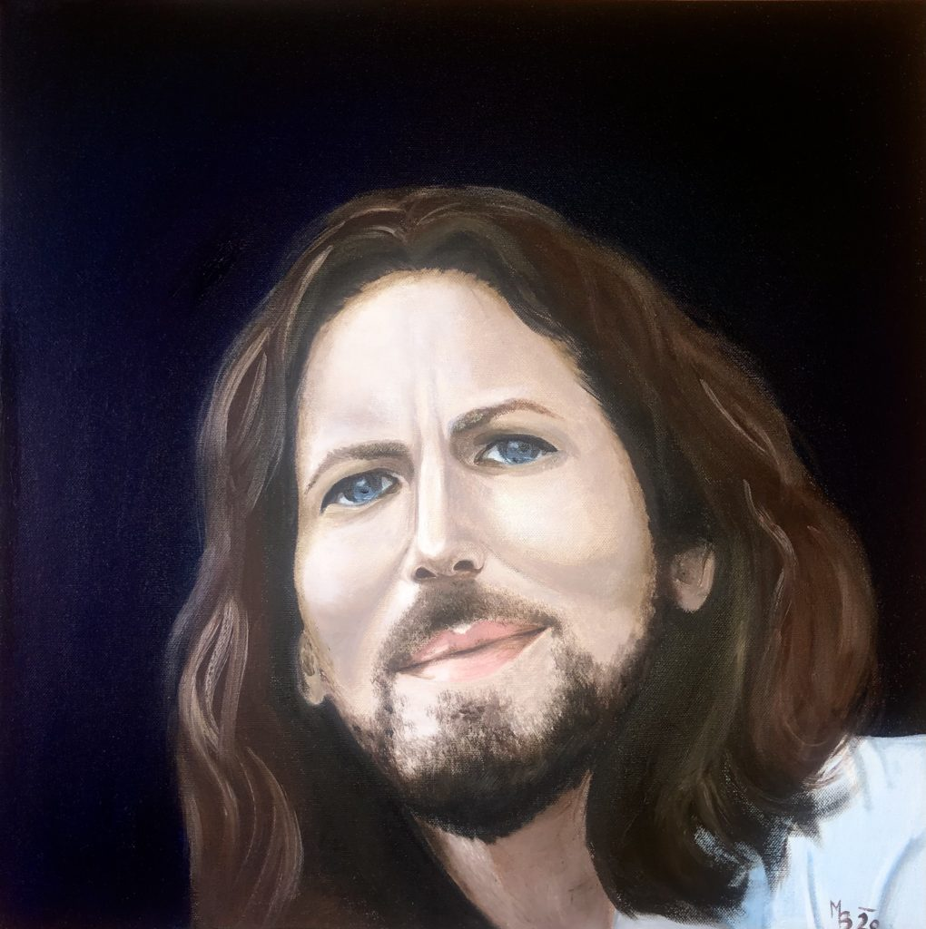 Olejomalba portrét 9