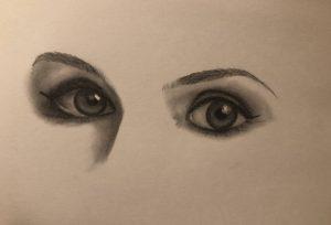oči Noomi Rapace