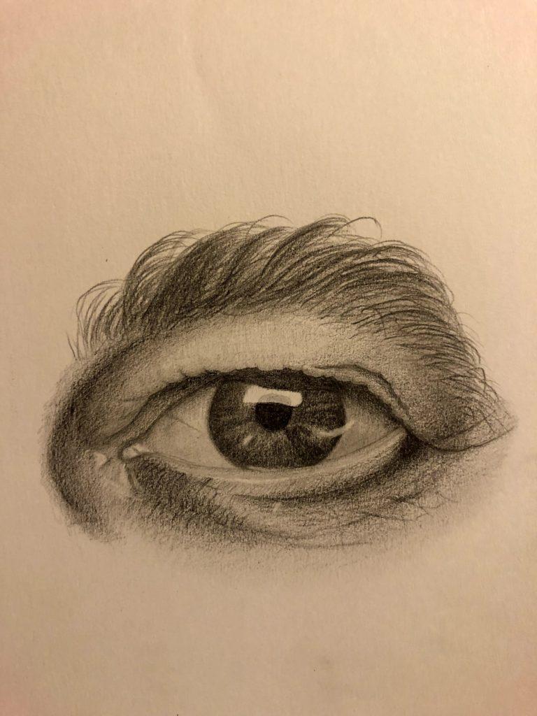 oko muže