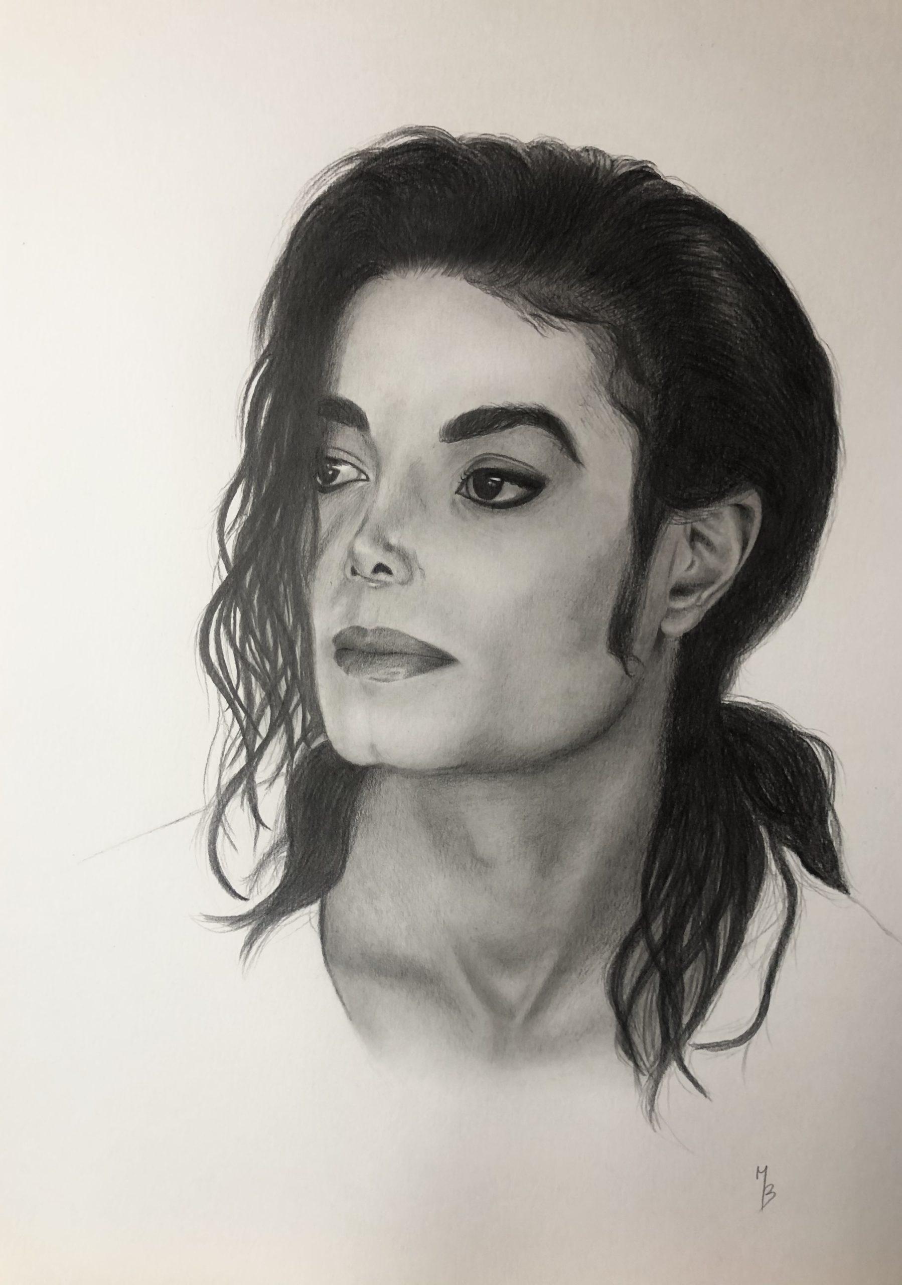 Portrét Michaela Jacksona