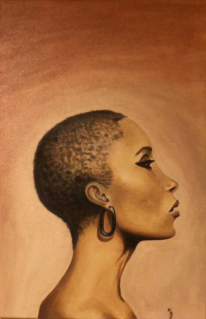 Olejomalba portrét 12
