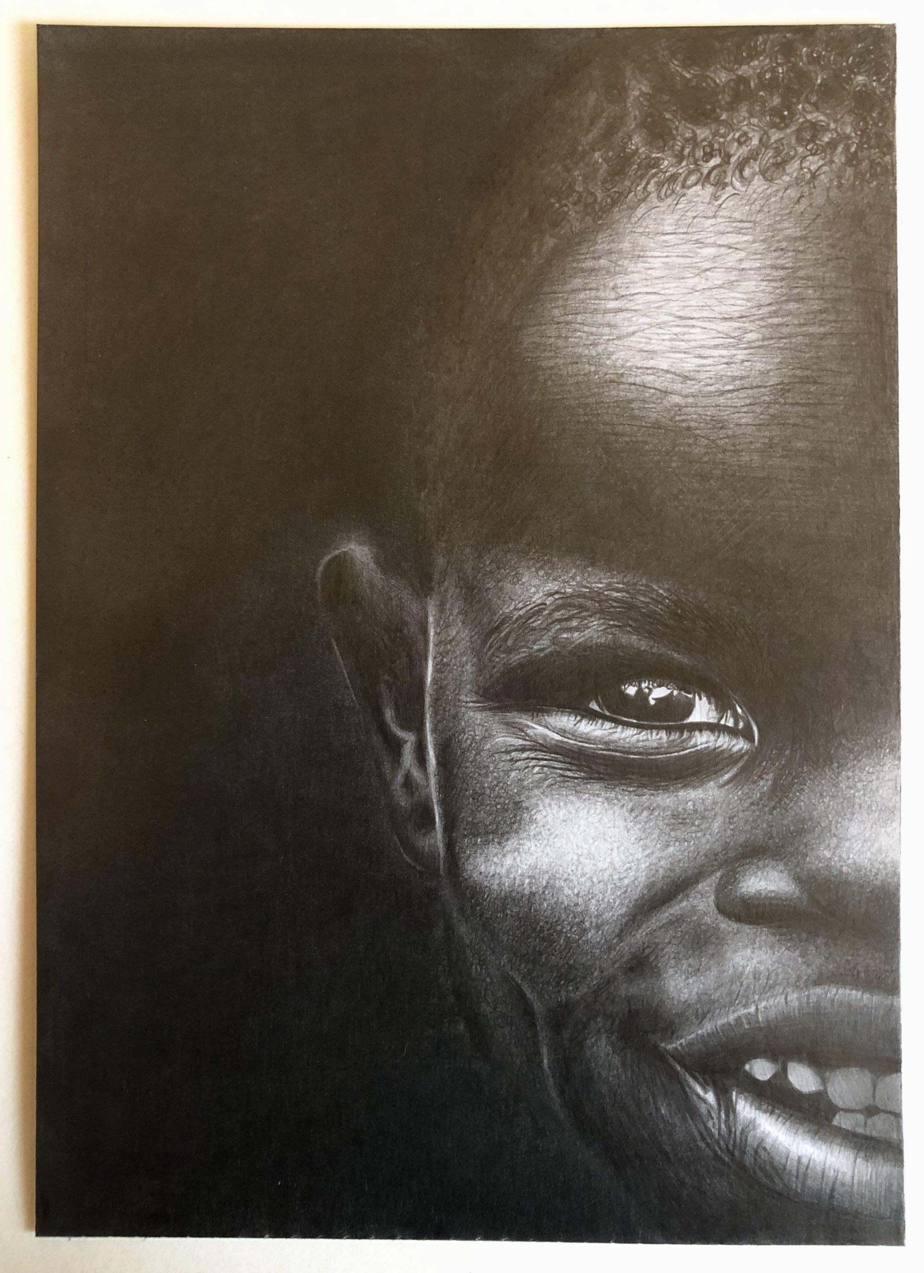 Kreslený černoušek